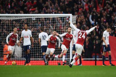 Iwobi On Late As Arsenal Outclass Tottenham