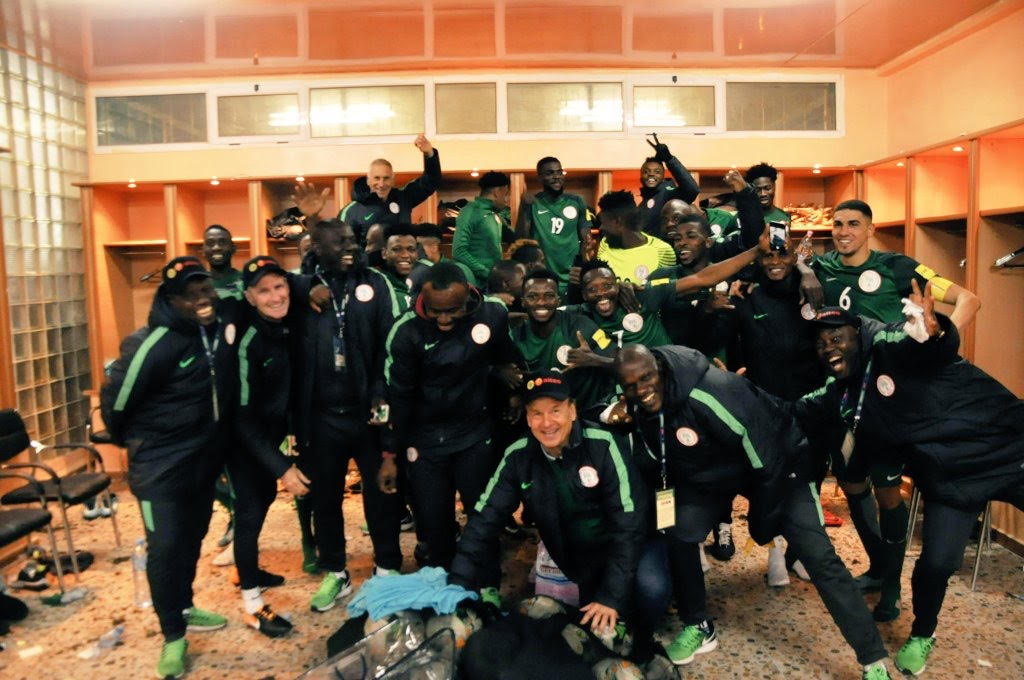 Super Eagles Land In Russia For Argentina Clash - Complete ...