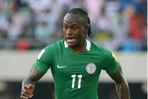 Image result for Moses Wins Nigerian Player Of The Year Award