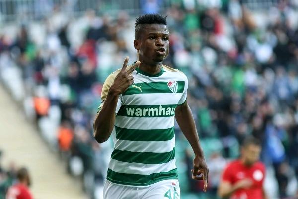 Agu Resumes Training With Bursaspor After Knee Injury