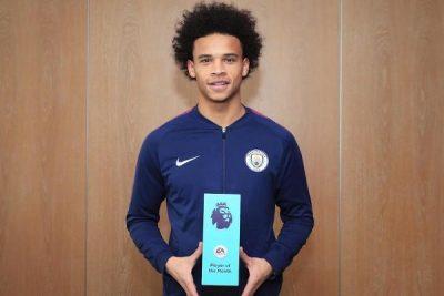 Sane, Boufal Win Premier League October Best Player, Goal Awards