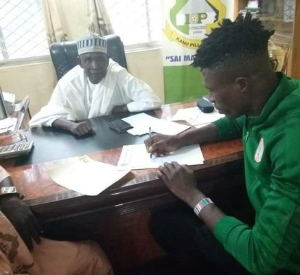 Kano Pillars Sign Home- Super Eagles Defender Eze