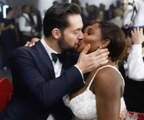 Serena Williams Gets Married Amid Fanfare Complete