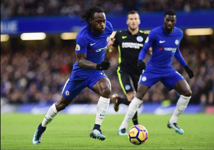 Moses Makes France Football Magazine Team Of The Year