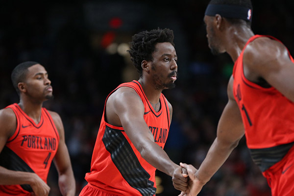 NBA: Aminu Shines In Blazers' Win As Oladipo Loses With Pacers