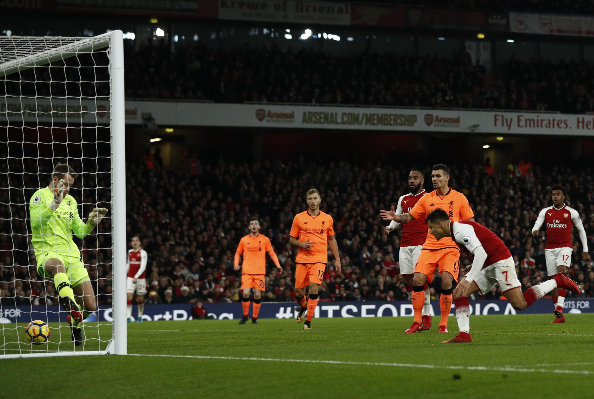 Iwobi Shines As Arsenal, Liverpool Draw In Emirates Thriller