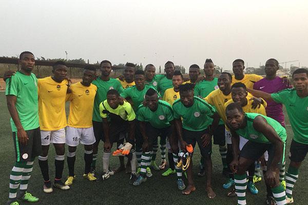 Home Eagles Beat Lower League Oyah FC In Friendly