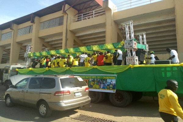 NPFL Champions Plateau United Hold Victory Parade