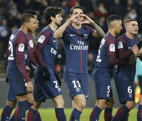 Argentina Stars Di Maria, Pastore Score As 'Neymar-less' PSG Bounce Back Vs Lille