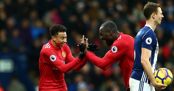 Lukaku, Lingard Fire Man United Past Spirited West Brom