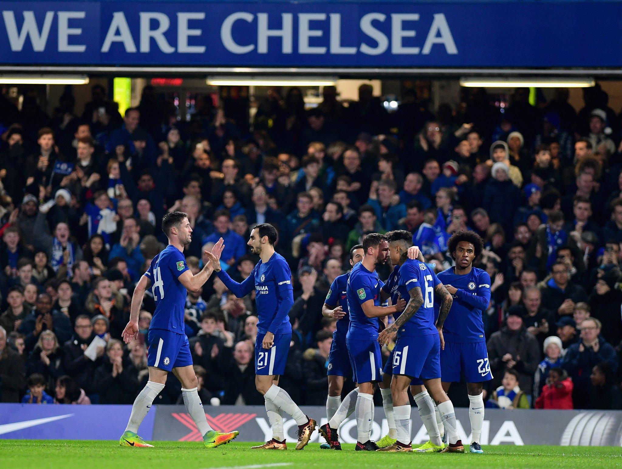 Carabao Cup Semi-Finals: It's Moses Vs Iwobi As Chelsea Draw Arsenal