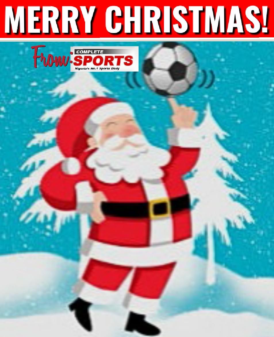 Merry Christmas From Completesportsnigeria.com