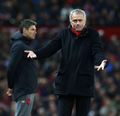 Mourinho Blames Ill-Luck, Injury Crises For Manchester United's Woes