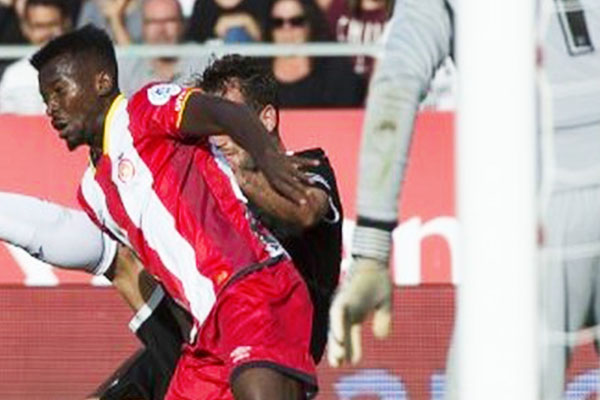 Kayode Injured, Ruled Out Of Girona Action For Three Weeks