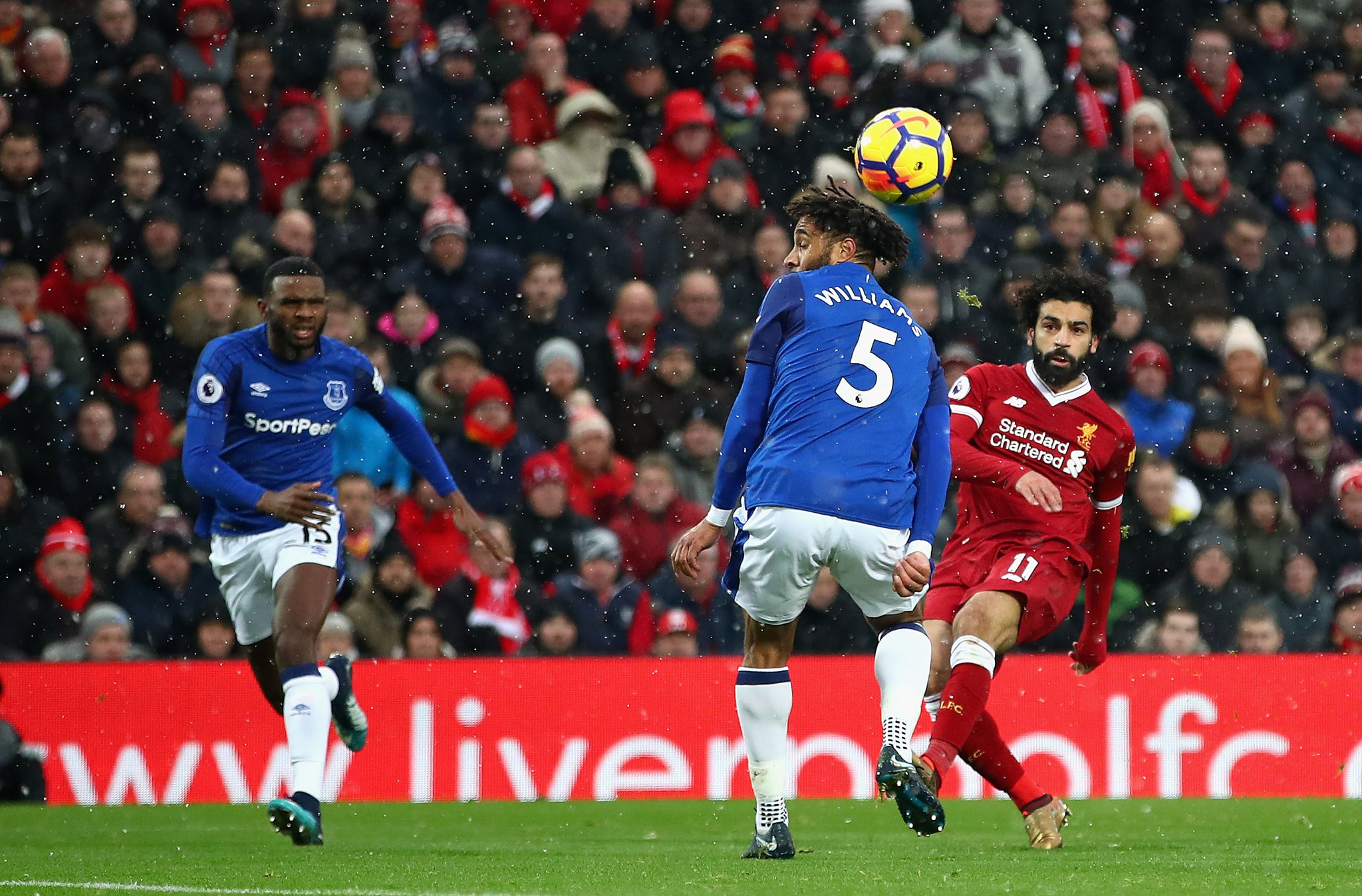 Klopp Defends Salah Sub, Blames Ref For Merseyside Derby Draw