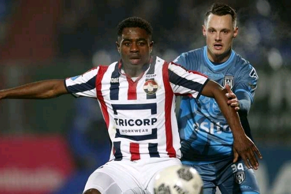 Ogbeche Taken Off Injured In Willem II Cup Win
