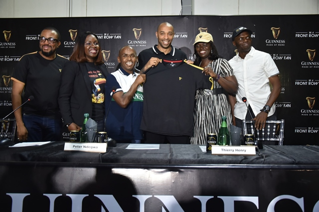 International Football Icon Thierry Henry Visits Nigeria