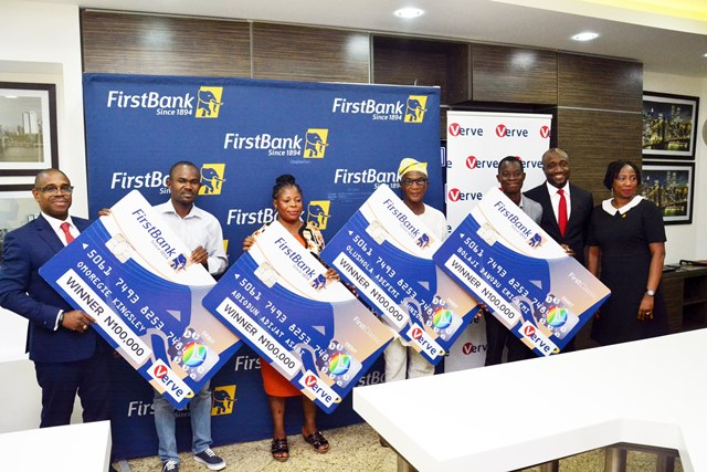 FirstBank Customers Win N100,000 In The Verve Reactivate And Win promo!!!