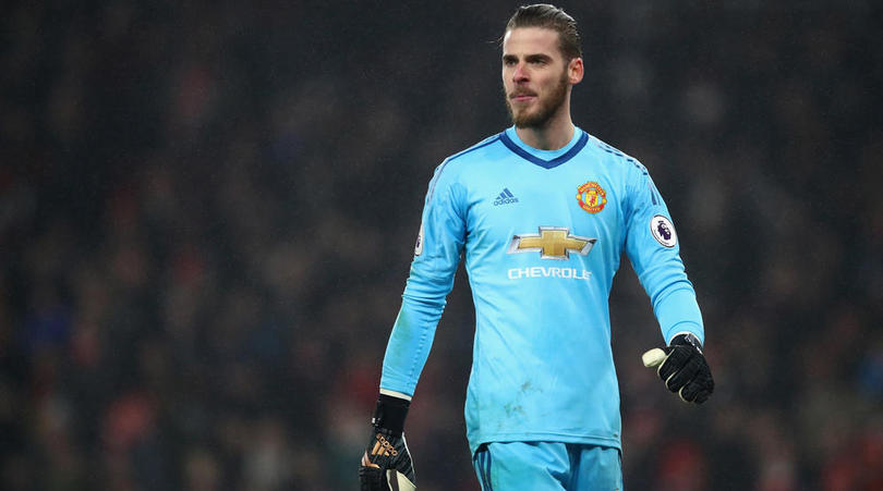 Mourinho: De Gea? He's United's Third Best Goalkeeper