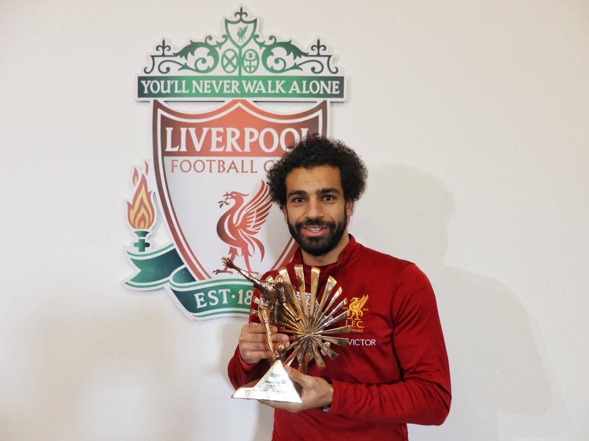 Egypt's Mohamed Salah named African Footballer of the Year 2017