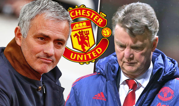 Van Gaal Blasts Mourinho's Manchester United For Playing Boring Football