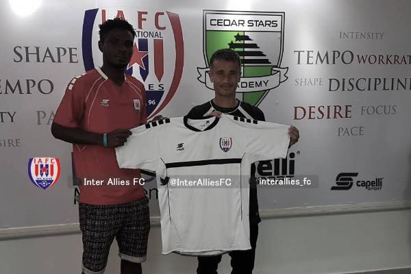 Kaduna United Defender  David Joins Ghanaian Club Inter Allies