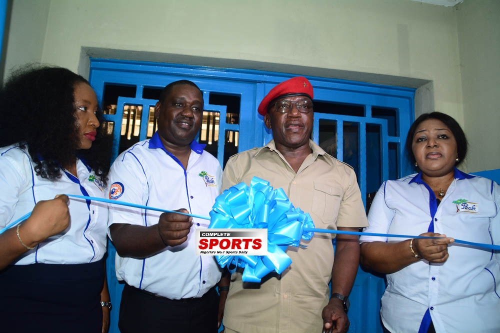 Peak Milk, Sports Ministry Unveil New Power Gym In Lagos