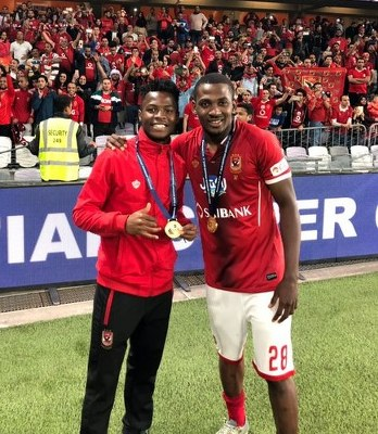 Ajayi Relishes Egyptian Super Cup Win‎ With Al Ahly