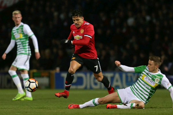 FA Cup: Man United Thrash Yeovil As Sanchez Debuts, Wednesday Stop Reading