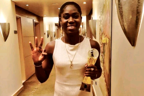 Nigeria Stock Exchange Honours Oshoala With Bell Ringing Ceremony
