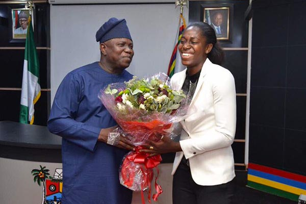 Oshoala Relishes Appointment As Lagos State Sports Ambassador