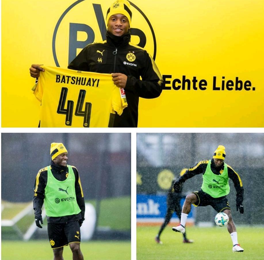 Dortmund Confirm Batshuayi Arrival On Loan From Chelsea