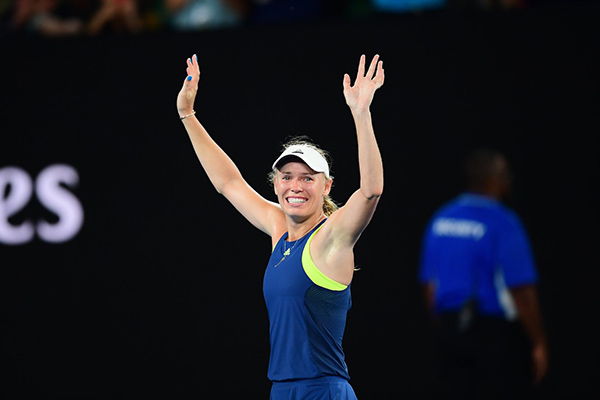 Wozniacki Overcomes Halep To Win Historic Australian Open Title