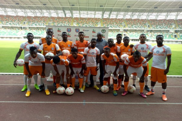 Akwa United Unveil 16 New Players For NPFL, CAFCC Campaign