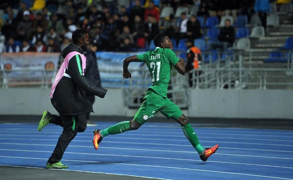 Faleye Targets More Goals As Home Eagles Clash With Equatorial Guinea
