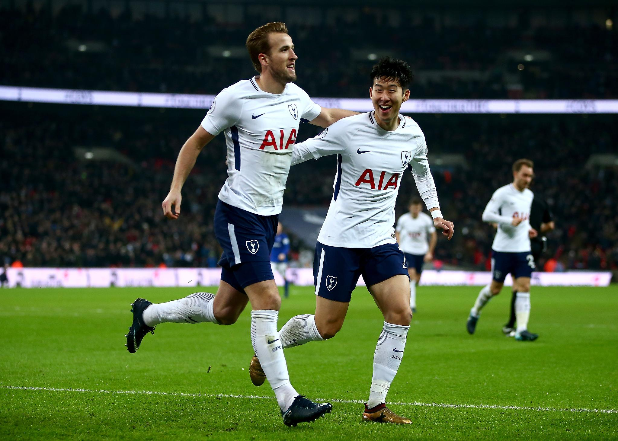 Kane Sets Tottenham Scoring Record In Everton Rout