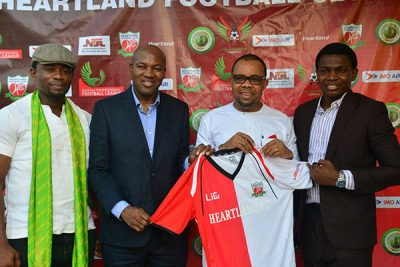 NPFL: Heartland Unveil 11 New Players, Partner Imo Air