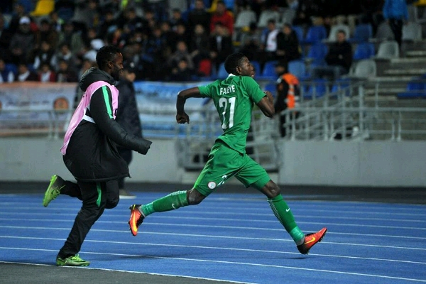 3SC Salute Faleye On Home Eagles' Goal Vs Libya