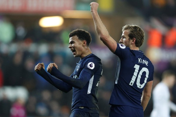 Spurs Ease Past Swansea As Palace, West Ham Win