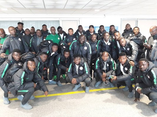 Home Eagles Land In Morocco For 2018 CHAN