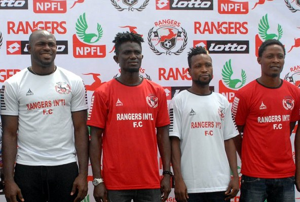 Enugu Rangers Unveil Abu Azeez, Thomas, 14 Other New Players