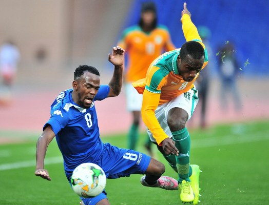 Newcomers Namibia Stun Cote D'Ivoire At CHAN