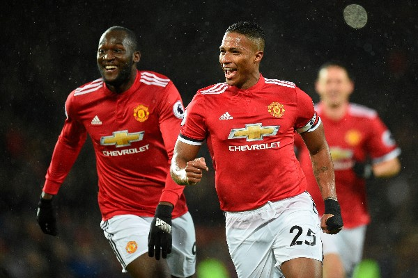 Valencia, Martial, Lukaku On Target As Man United Outclass Stoke