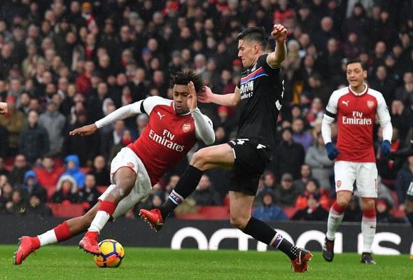 Iwobi Ends Goal Drought As Arsenal Thrash Palace; Iheanacho Benched, United Edge Burnley