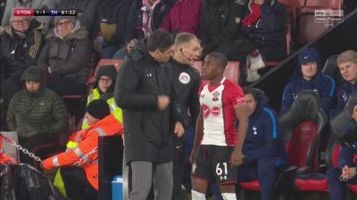 Nigerian Teenager Obafemi Makes Southampton Debut In Tottenham Draw