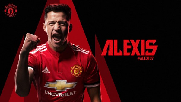 Alexis Sanchez completes transfer to Manchester United