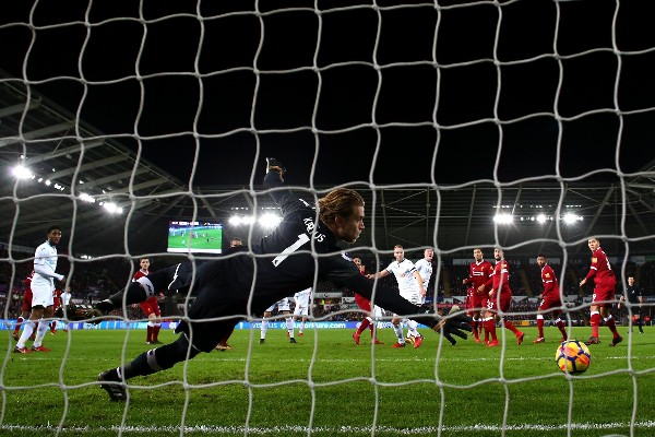 Bottom Side Swansea End Liverpool's Unbeaten Streak