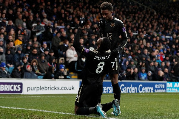 FA Cup: Iheanacho Grabs Brace, Ndidi On Target As Leicester Advance