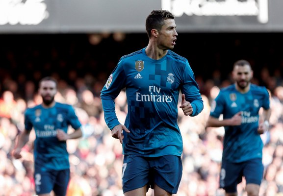 Ronaldo Hits Brace As Real Madrid Bounce Back With Win Vs Valencia