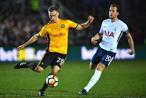 FA Cup: Kane's Late Strike Saves Spurs Vs Newport County